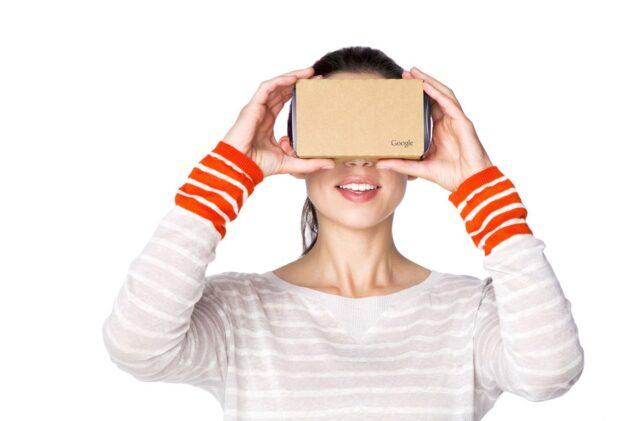 Eine stabile Pappbrille. (Foto: Google)