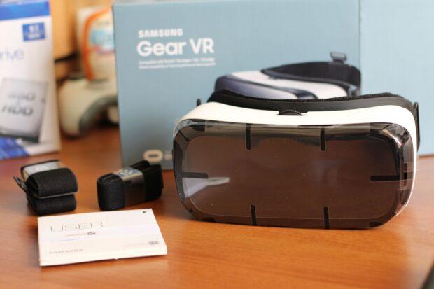 Die Gear VR. (Foto: Sven Wernicke)