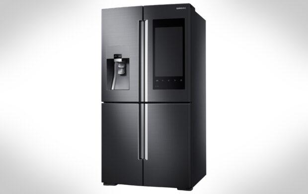 Darf auf einer CES nicht fehlen: der Internet-Kühlschrank, wie hier von Samsung