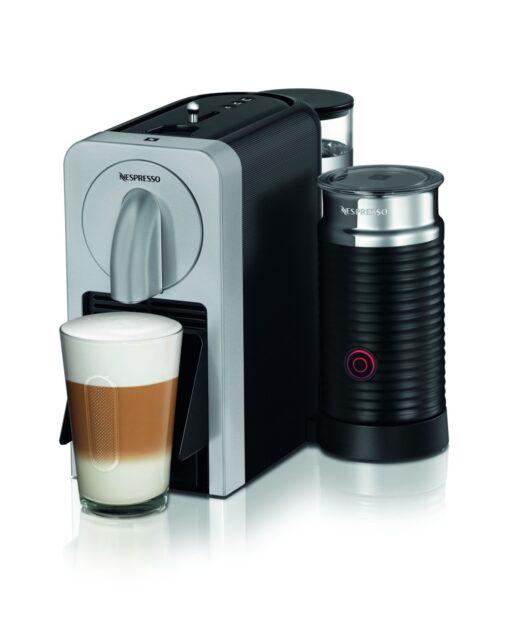Die Maschine mit Milchschaum-Bereiter. (Foto: Nespresso)