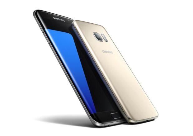 Das Samsung Galaxy S7 Edge verfügt über LTE Cat 9 und beherrscht damit eine maximale Übertragungsraten von 450 Mbit/s – abhängig vom Netzangebot natürlich. Bild: Samsung