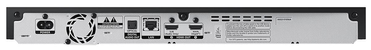 Auf analoge Schnittstellen setzt Samsung im UHD-Zeitalter nicht mehr.