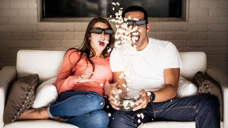 So schön sollte 3D im Heimkino sein. In der Realität kein durchschlagender Erfolg. Bild: Samsung
