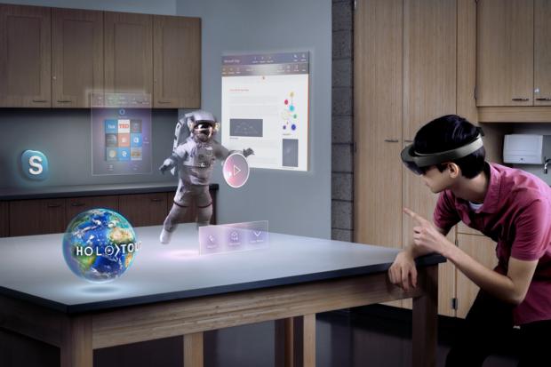Und was wird mit HoloLens? (Foto: Microsoft)