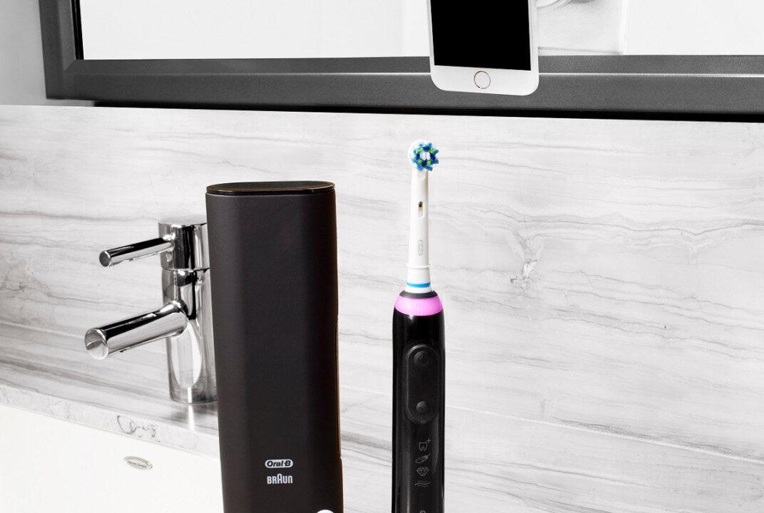 Oral-B erkennt, welche Zähne du nicht geputzt hast