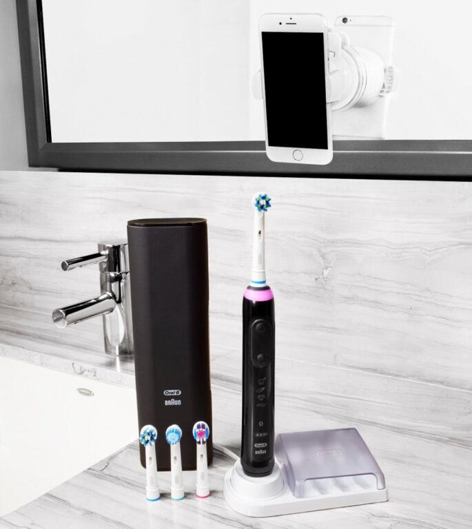 Gerade teurere Zahnbürsten bieten viel Komfort. Wieso sie nicht für die ganze Familie nutzen? (Foto: Braun)