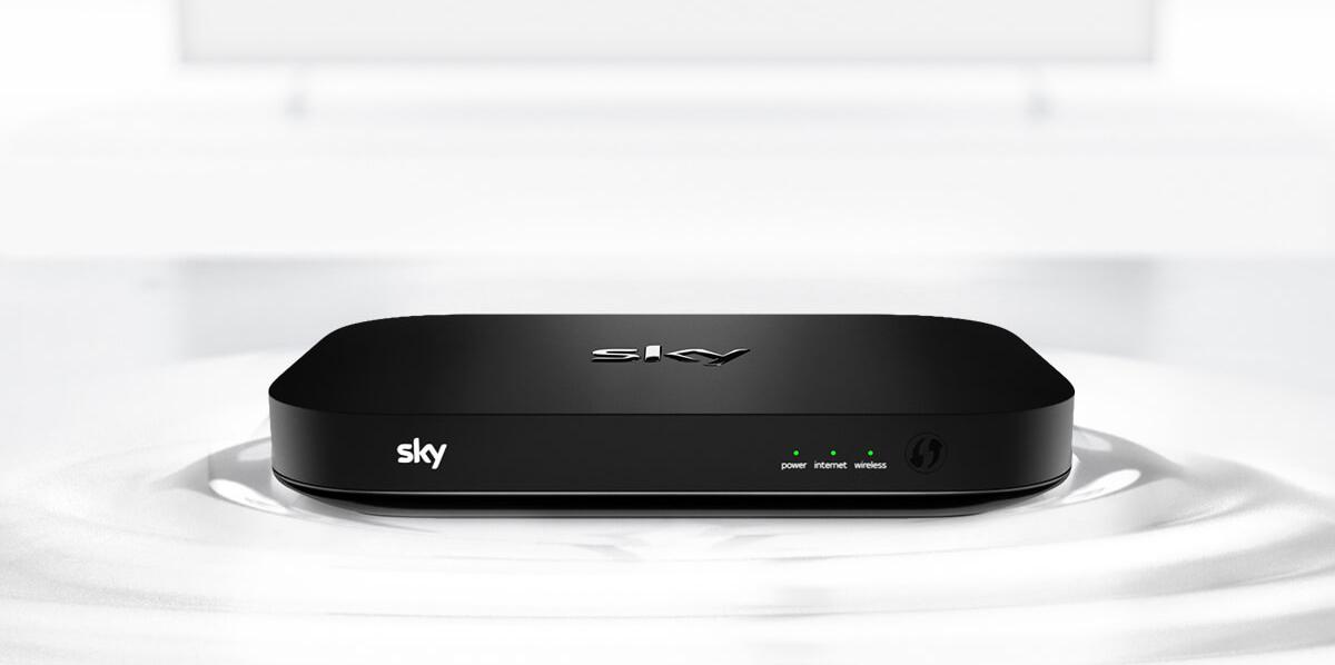 In England wird die Sky-Q-Box bereits angeboten (Bild: Sky)