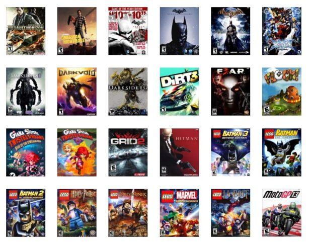 Eine Auswahl aktueller Titel des Streaming-Anbieters. (Foto: GameFly)