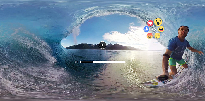 Samsung und Facebook bringen soziales Netzwerk für VR-Brille Gear VR