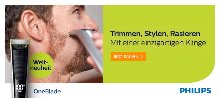 Neu bei Euronics: Philips OneBlade – den Bart trimmen, stylen oder abrasieren
