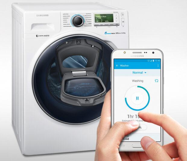 Per Wi Fi Smart Control Weiss Das Smartphone Wann Am Besten Wasche Oder Weichspuler