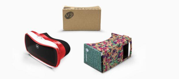 Es gibt viele Cardboard-Modelle, nicht nur eins. (Foto: Google)