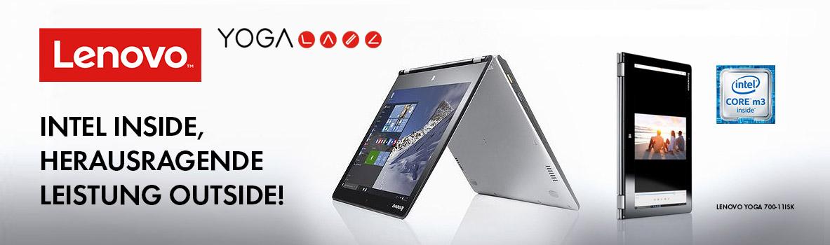 Lenovo Yoga: Mobile Rechner für jeden Einsatz