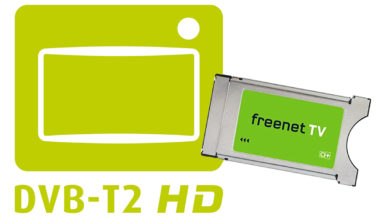 DVB-T2 HD mit Hardware von Freenet TV