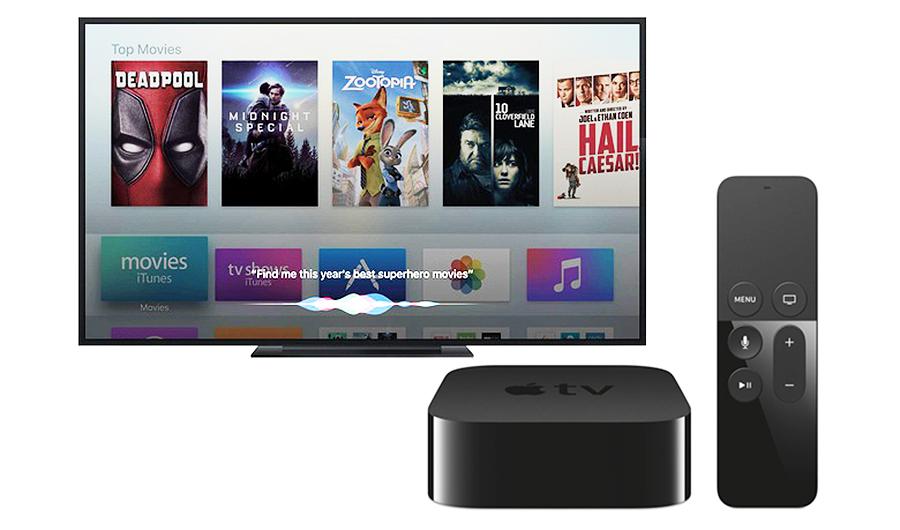 Apple TV: Das ändert sich ab Herbst mit dem neuen tvOS 10