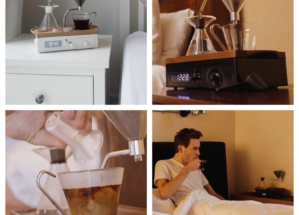 Barisieur: Schöner aufwachen mit dem gemeinsamen Kind von Wecker und Kaffeemaschine