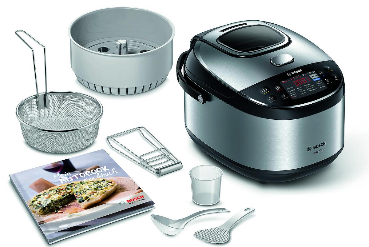 Bosch Autocook Pro Der Neue Multicooker Macht Mehr Dampf Als Der