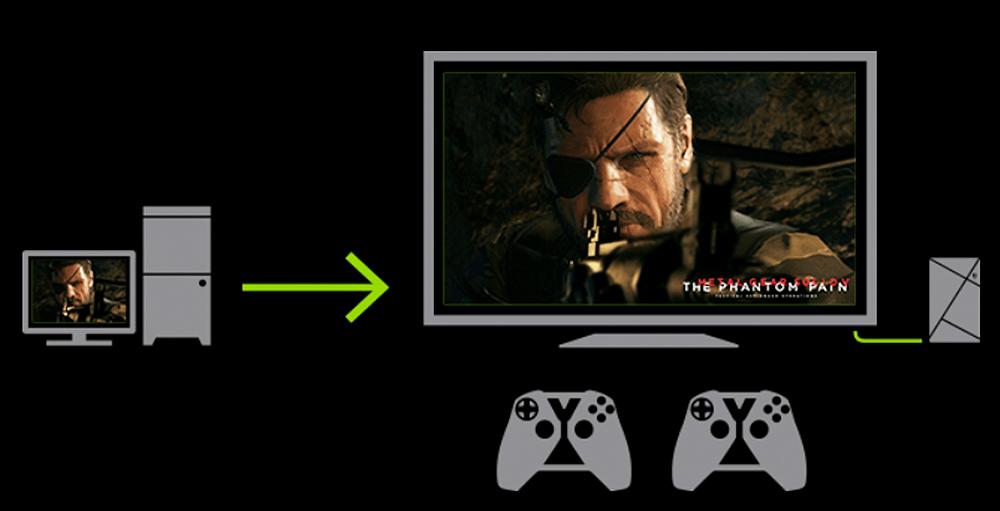 Bald auch in HDR: Die Bilddarstellung von NVIDIA Gamestream.