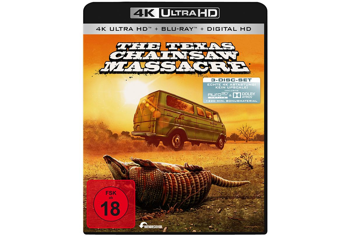 """Panasonic sucht derzeit nach den Ursachen für den Ton-Bug, der bei der Wiedergabe der Ultra HD Blu-ray von """"The Texas Chainsaw Massacre"""" auf dem DMP-UB900 auftritt."""