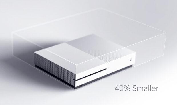 Die kompakteste Xbox aller Zeiten: Um 40% ist die Xbox S kleiner als die One.