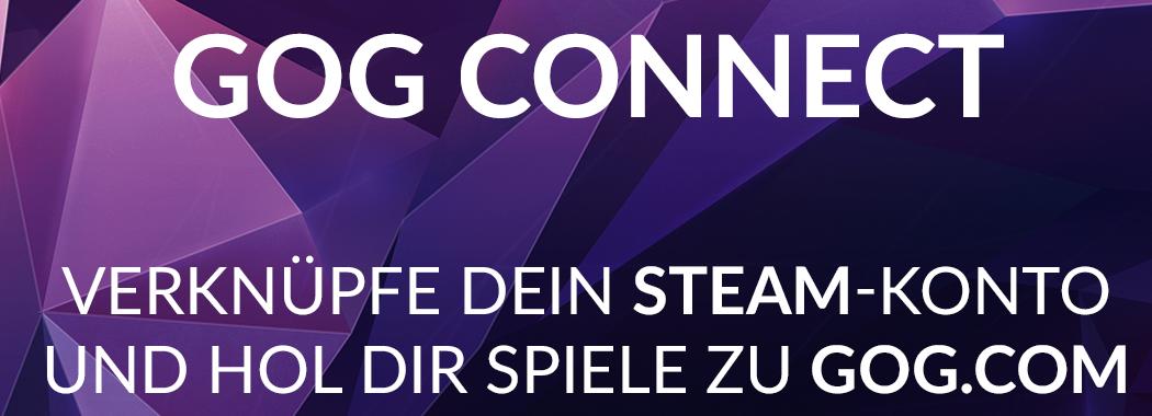 GOG Connect: Spiele von Steam zu GOG kostenfrei übertragen