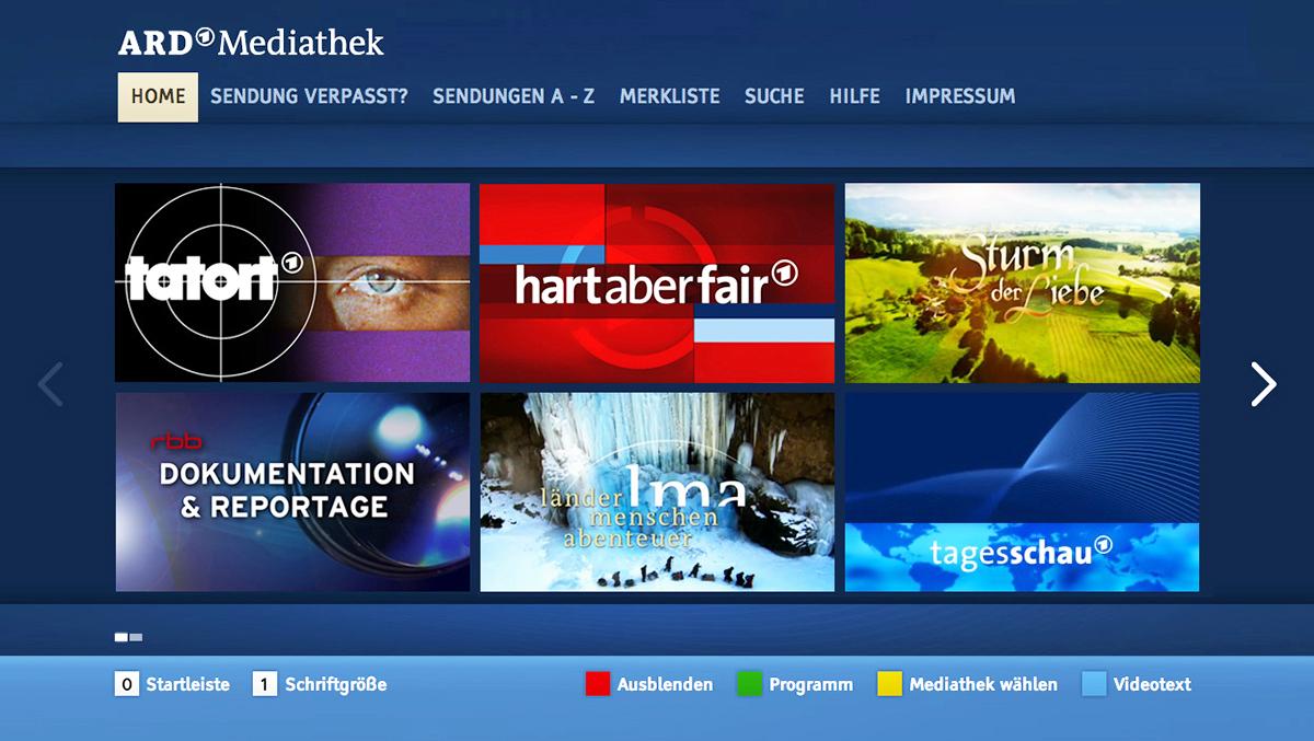 Die Mediatheken der TV-Sender: Nirgends so beliebt wie in Deutschland