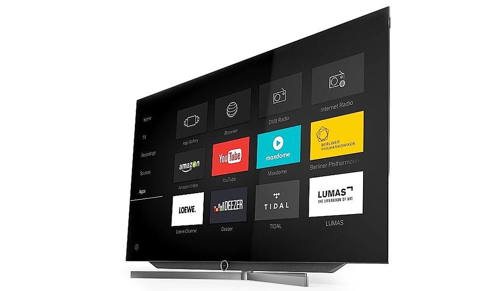 """Mit dem """"bild 7"""" wird auch Loewe im September 2016 in den OLED-TV-Markt einsteigen."""