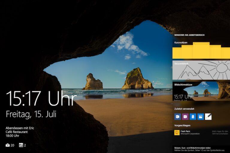 Webcams und das Anniversary Update. (Foto: Microsoft)