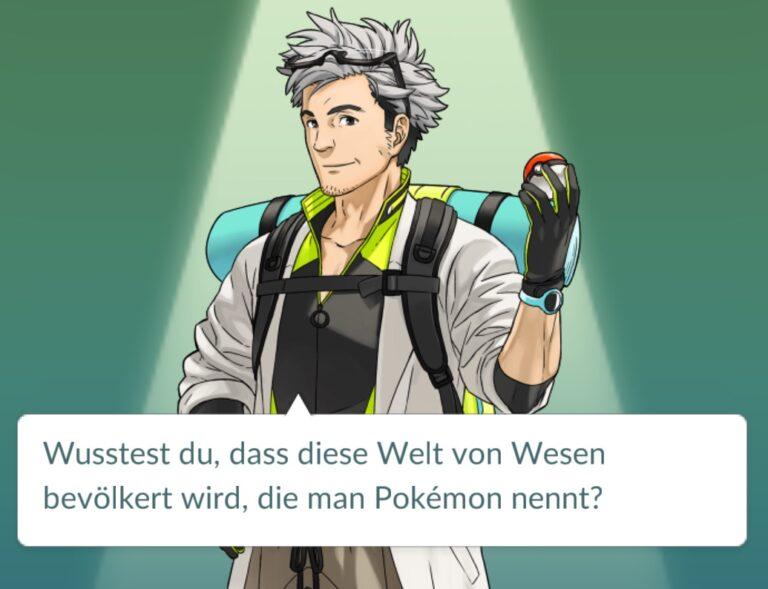 Genauer gesagt: von Pokémons und Pokémon-Schatzsuchern