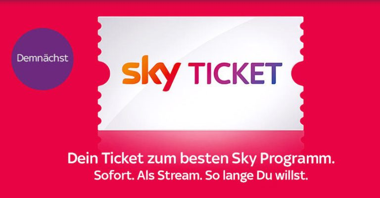 Sky Ticket Log In