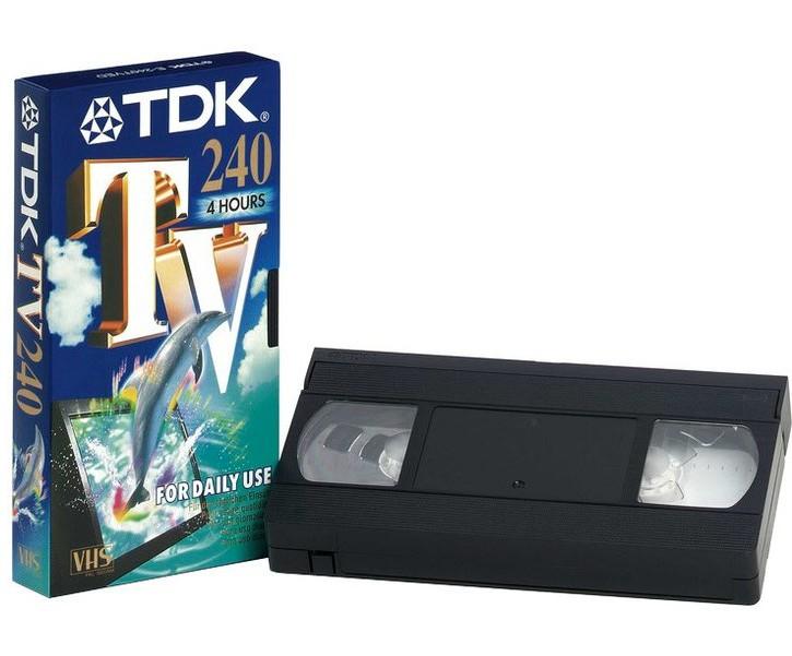 Videokassetten sind am Ende. Bild: TDK