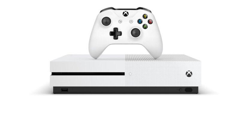 Die aktuelle Xbox One S. (Foto: Microsoft)