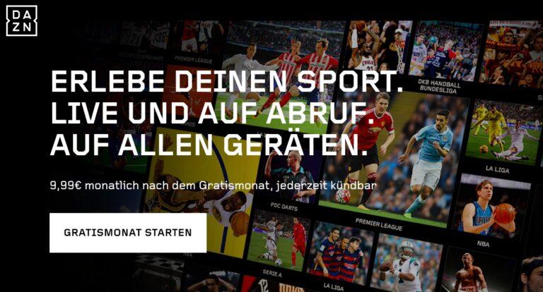 DAZN will das Netflix des Sports werden (Bild: DAZN)