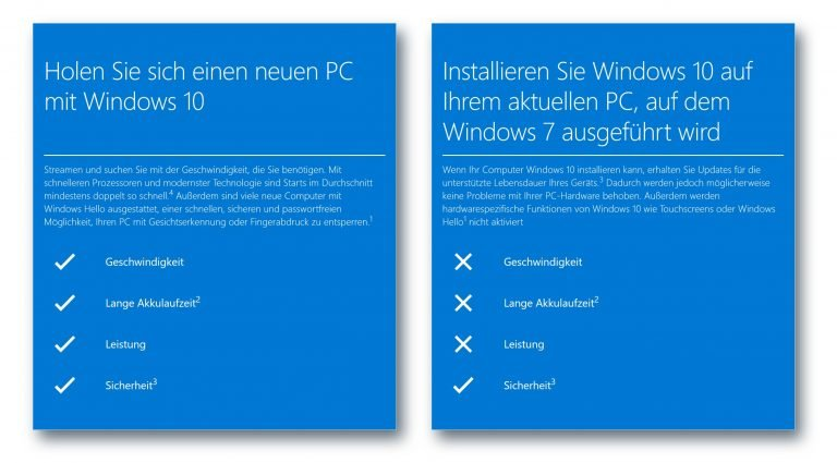 Mit einem neuen Rechner wird Windows 10 zum Spaß - so meint das Microsoft. (Screenshot)