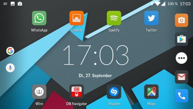 Smartphone im Quermodus geht ab Android 6.0 mit ein paar Handgriffen, keine Extra-App notwendig.
