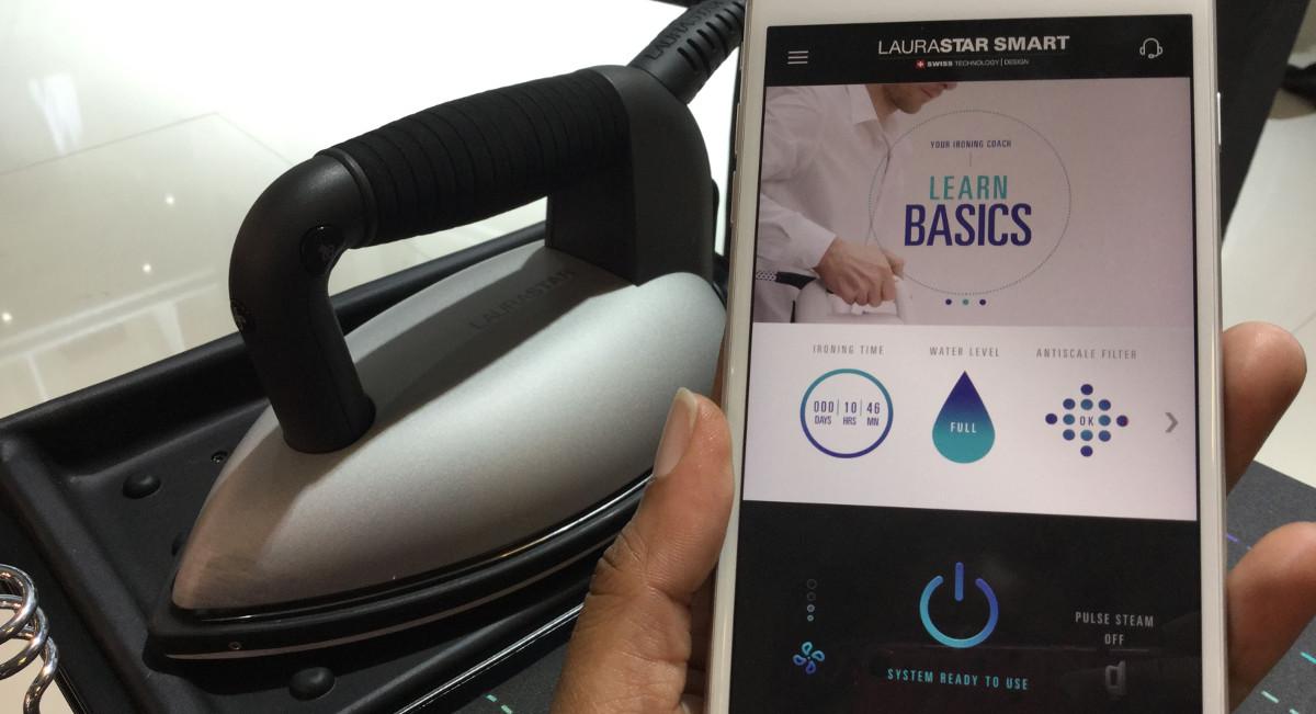 Laurastar Smart: Dieses Bügeleisen bringt euch das Bügeln bei