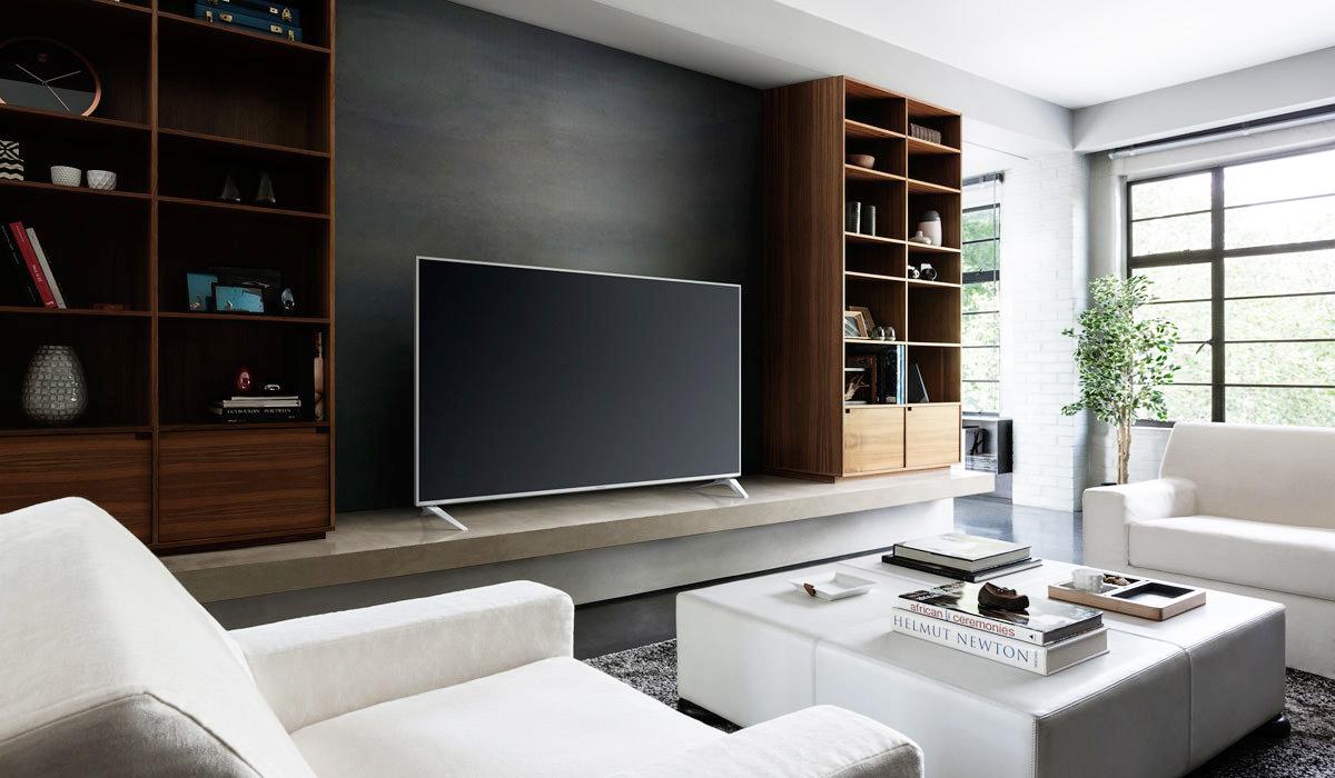 Smart TVs von Panasonic, wie der hier abgebildete TX-58DXW734, arbeiten mit dem Betriebssystem Firefox OS. (Bild: © Panasonic)