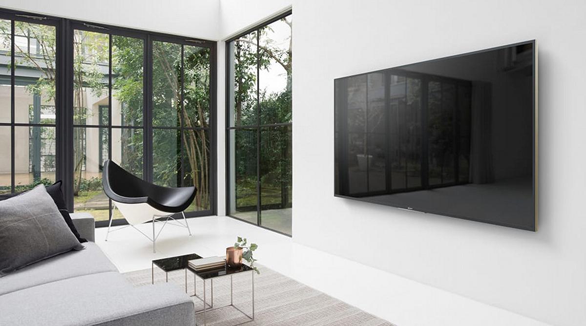 Objekt der Begierde: Spitzentechnologie und zeitlose Eleganz zeichnen die neuen UHD-HDR-Fernseher der ZD9-Reihe von Sony ohne Zweifel aus.
