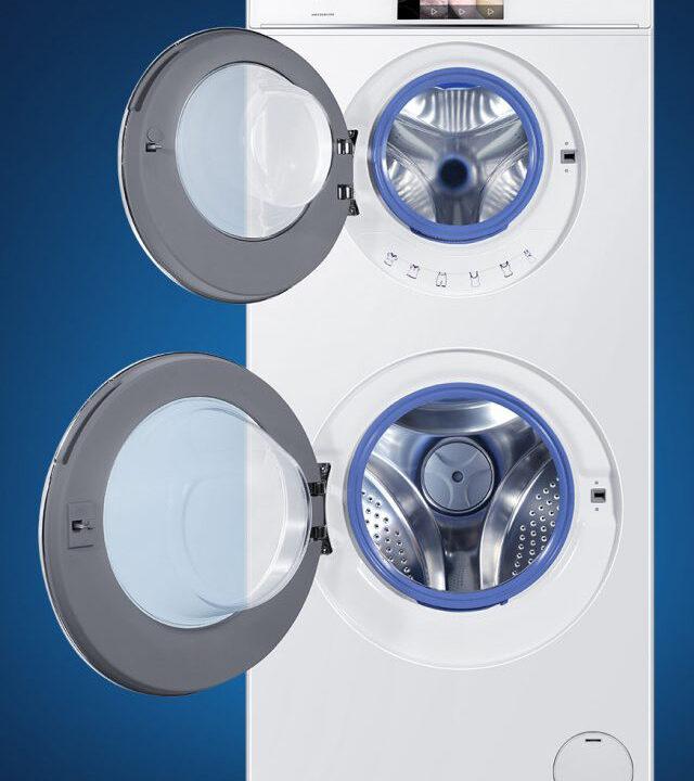 Haier Duo Dry: Waschmaschine mit zwei Trommeln kann gleichzeitig waschen und trocknen