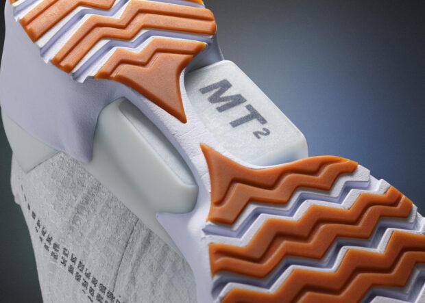 LED-Fläche dient auch zum Aufladen. (Foto: Nike)