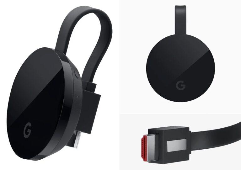 Der Chromecast Ultra bringt einen Sprachassistenten mit. (Foto: Google)