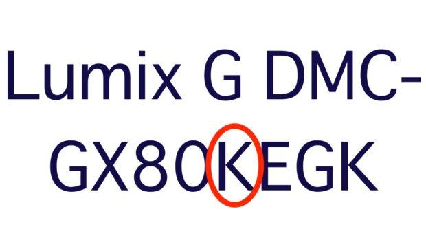 Der oder die ersten Buchstaben hinter einer Kamera-Bezeichnung steht bei Panasonics Lumix G-Kameras meist für den Objektivtyp.