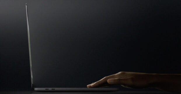 Sehr flach geworden: Das neue MacBook Pro