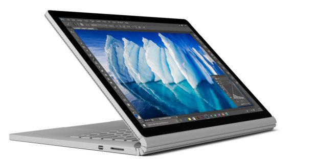 Äußerlich hat Microsoft das Surface Book i7 nicht verändert, aber leistungsfähiger ist es geworden (Bild: Microsoft)