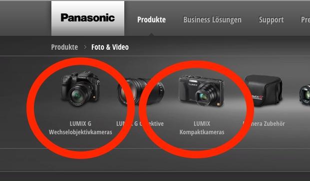 Panasonic Lumix Was Bedeuten Die Produktnummern Und Wie
