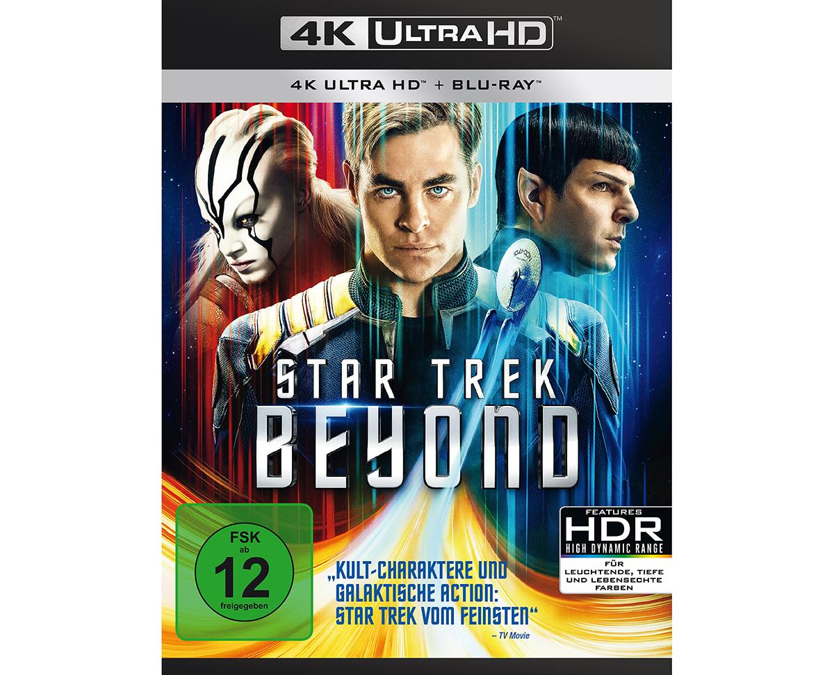 """Während """"Star Trek Beyond"""" bei uns auf Ultra HD Blu-ray in HDR-10 veröffentlicht wird, startet Paramount mit dem Titel in den USA zumindest schon mal bei Vudu ins Dolby Vision-HDR-Zeitalter."""