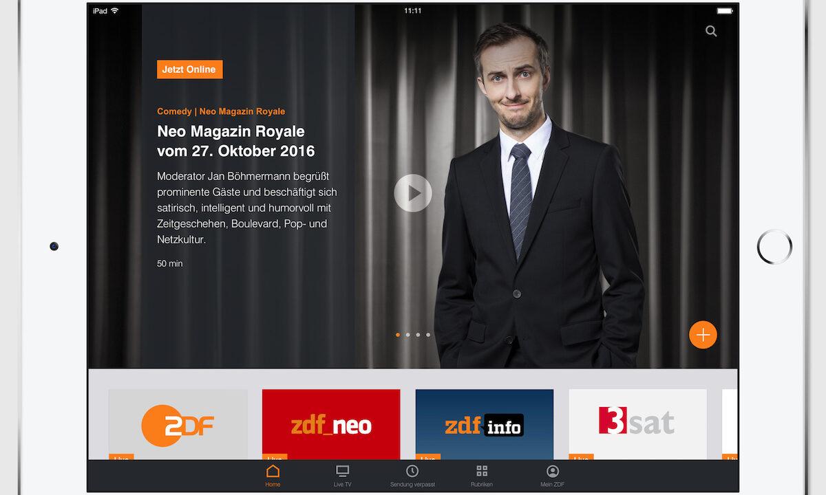 (Fast) alles neu bei der ZDFmediathek ab Ende Oktober – bis auf das Wichtigste
