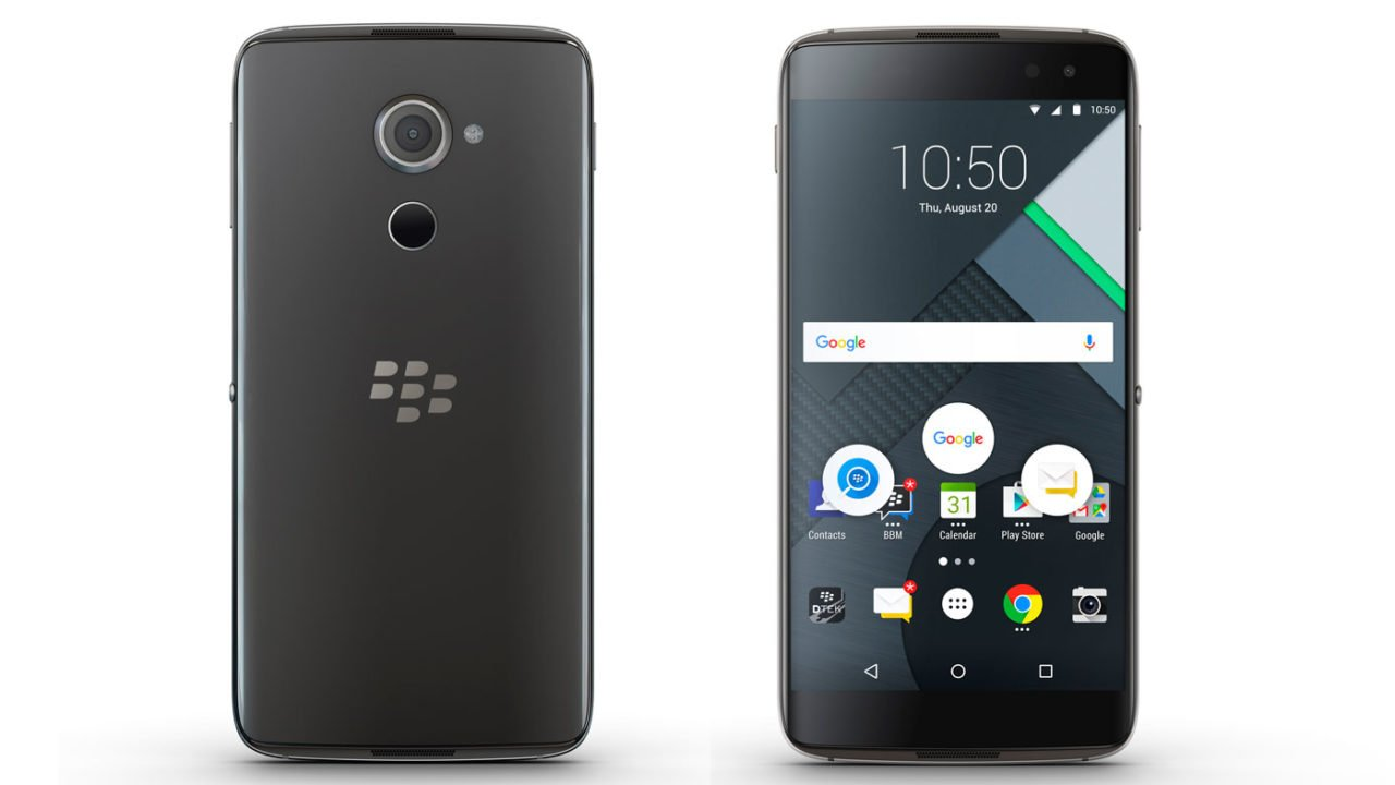 BlackBerry DTEK60: Oberklasse-Smartphone ohne Besonderheiten