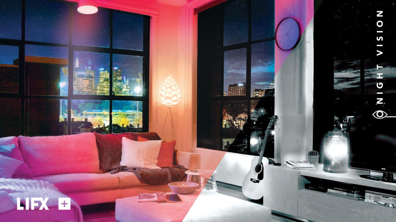 LIFX+: Infrarot-LEDs für ein sicheres Smart Home