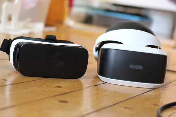 Vergleich mit Samsungs Gear VR. (Foto: Sven Wernicke)
